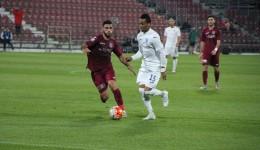 Nuno Rocha a marcat la Cluj şi a contribuit din plin la succesul Craiovei (foto: csuc.ro)