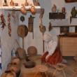 În casa țărănească, vizitatorii pot vedea toate obiectele pe care oltenii le foloseau zi de zi (Foto: Claudiu Tudor)