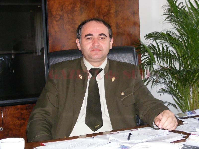 Ovidiu Cârstoc, şefu Direcţiei Silvice Gorj