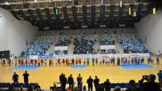 La prima partidă în cupele europene, echipa craioveană a fost susţinută de un număr destul de mic de spectatori