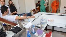 La Centrul de Transfuzie Sanguină Craiova au venit ieri de trei ori mai mulți donatori decât în zilele obișnuite (Foto: Claudiu Tudor)
