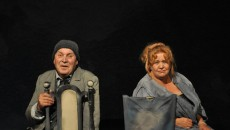 Tamara Popescu, alături de Ilie Gheorghe, pe scena TNC (Arhiva: Tamara Poescu)
