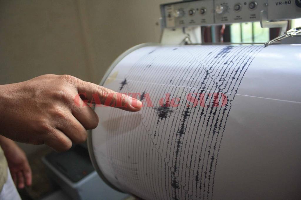 Cutremur cu magnitudinea de 3 grade în Vrancea • GAZETA de SUD
