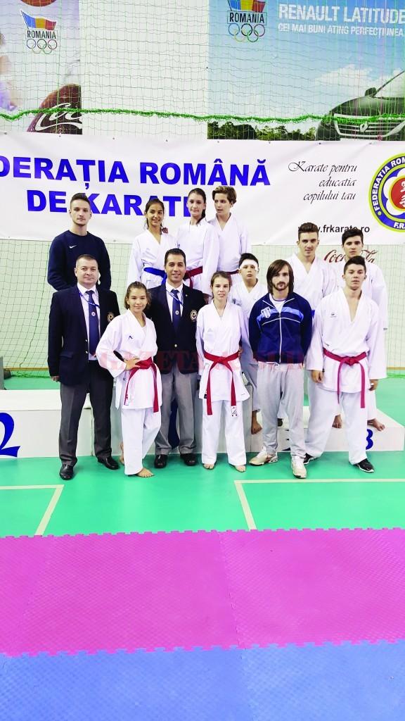 Karateka din Bănie au încheiat sezonul competiţional în nota obişnuită, cu multe clasări pe podium