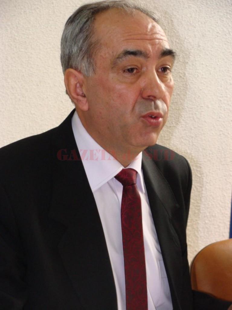 Constantin Negrea, directorul APIA Gorj