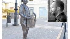 Dan Nica (foto medalion), autorul flaşnetarului din Centrul Vechi al Craiovei, spune  că amplasarea statuilor din bronz şi lucrările de renovare au dus la renaşterea zonei (Foto: Lucian Anghel)