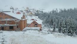 Peisaj de iarnă la Rânca (Foto: Mihai Tudor)