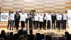 Elevii din corurile colegiilor craiovene au prezentat momente artistice la Gala Voluntariatului  (FOTO: Claudiu Tudor)