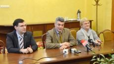 Conducerea Universității a prezentat obiectivele pentru anul următor (Foto: Claudiu Tudor)