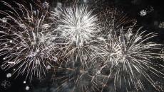 Artificiile de Revelion, pe faleza Jiului din Parcul Central