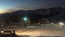 La Rânca, în weekend s-a schiat şi în nocturnă