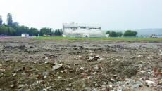 Lucrările la Stadionul Municipal sunt întrerupte de trei luni