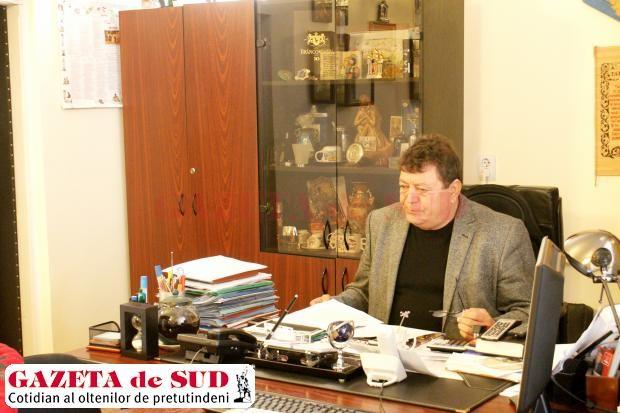 Constantin Gheorghiţă, primarul localităţii Podari