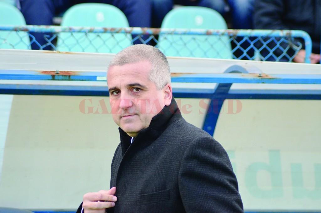 Felix Grigore este mulţumit de cum arată CSU Craiova în noua formulă (Foto: Alexandru Vîrtosu)