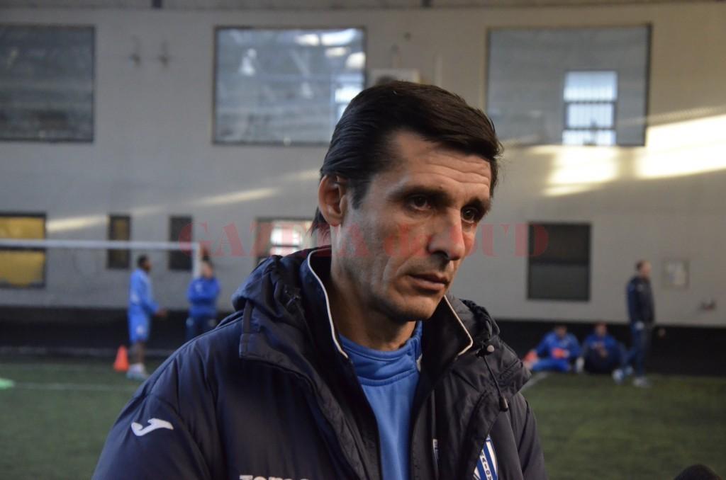 Daniel Mogoșanu își dorește să facă o treabă bună la CS Universitatea Craiova (foto: Alexandru Vîrtosu)