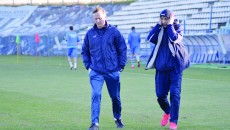 Săndoi nu se dă plecat cu una cu două, iar Mogoşanu este împins de conducere la antrenament (Foto: Alexandru Vîrtosu)