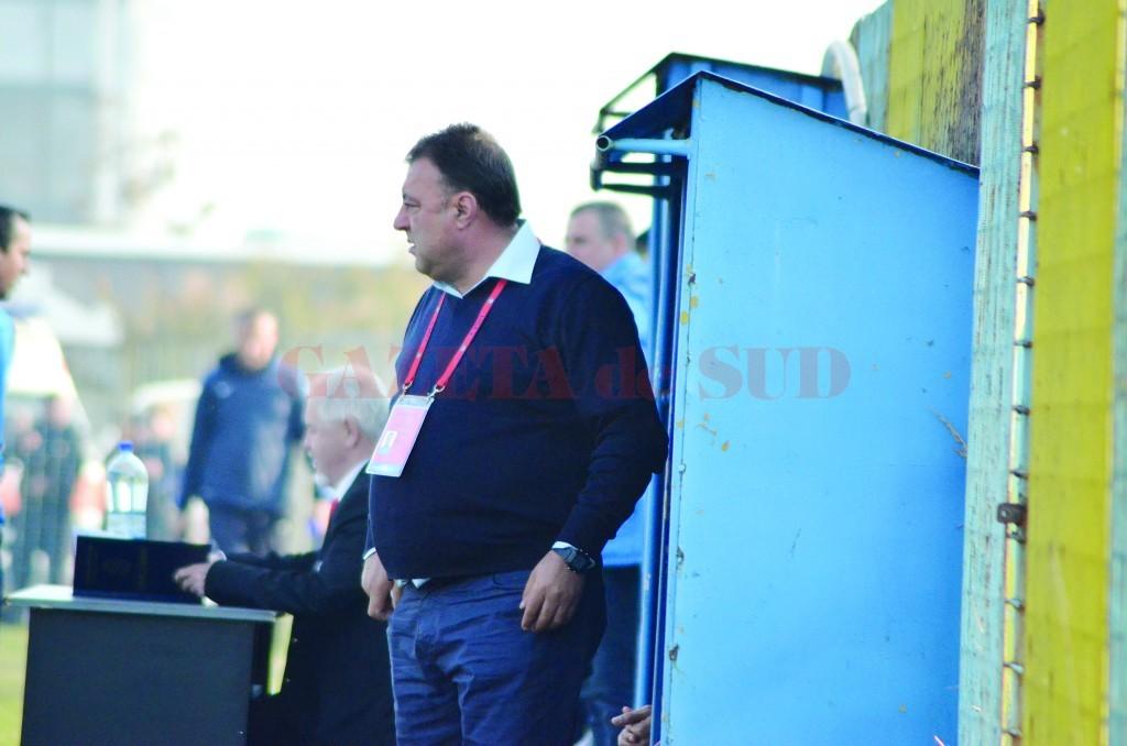 Florin Spânu îşi doreşte să aducă fotbaliştii filieşeni la echipă ()