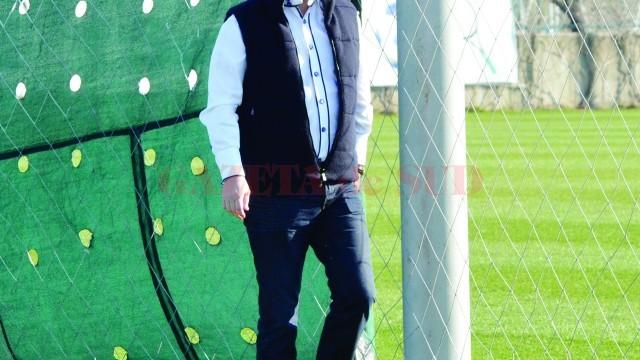 Mihai Rotaru nu mai este dispus să cheltuie mult cu fotbalul (Foto: Alexandru Vîrtosu)