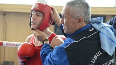 Antrenorul emerit Constantin Buzduceanu (dreapta) a scos mai mulți campioni de-a lungul carierei