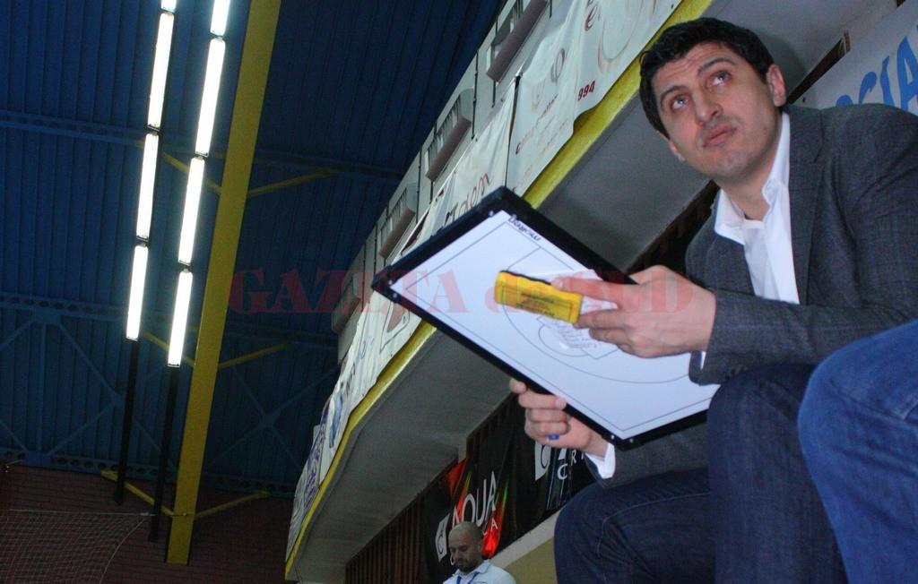 Hristu Șapera este noul antrenor al gorjenilor (foto: CS Energia)