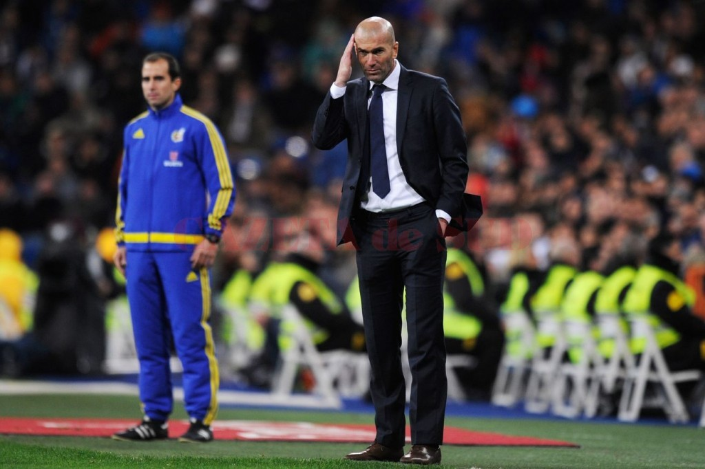 Zidane și-a îndeplinit misiunea la primul meci pe banca lui Real Madrid