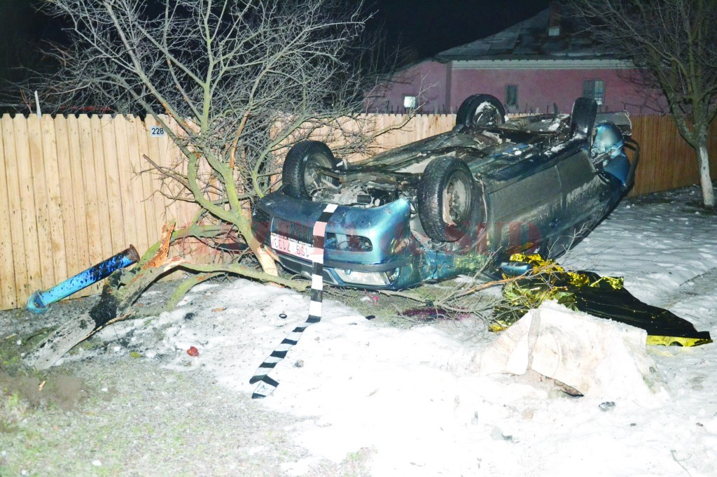 În urma accidentului provocat de Dobrescu, o fată de 14 ani a murit pe loc (Foto: arhiva GdS)