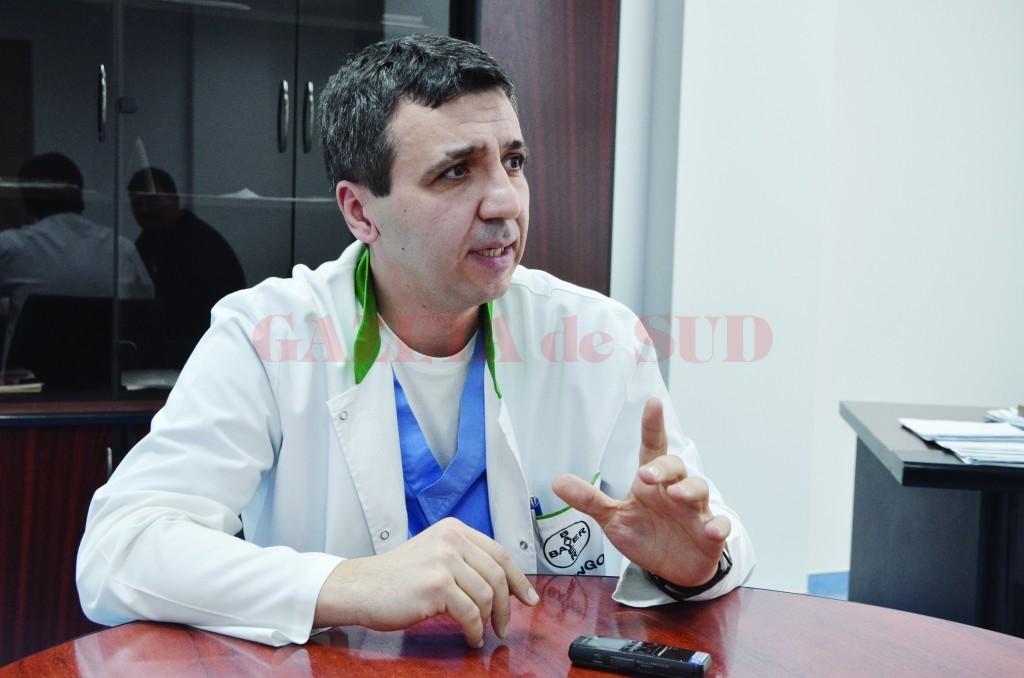 Bogdan Fănuță, managerul SJU Craiova (Foto: arhiva GdS)
