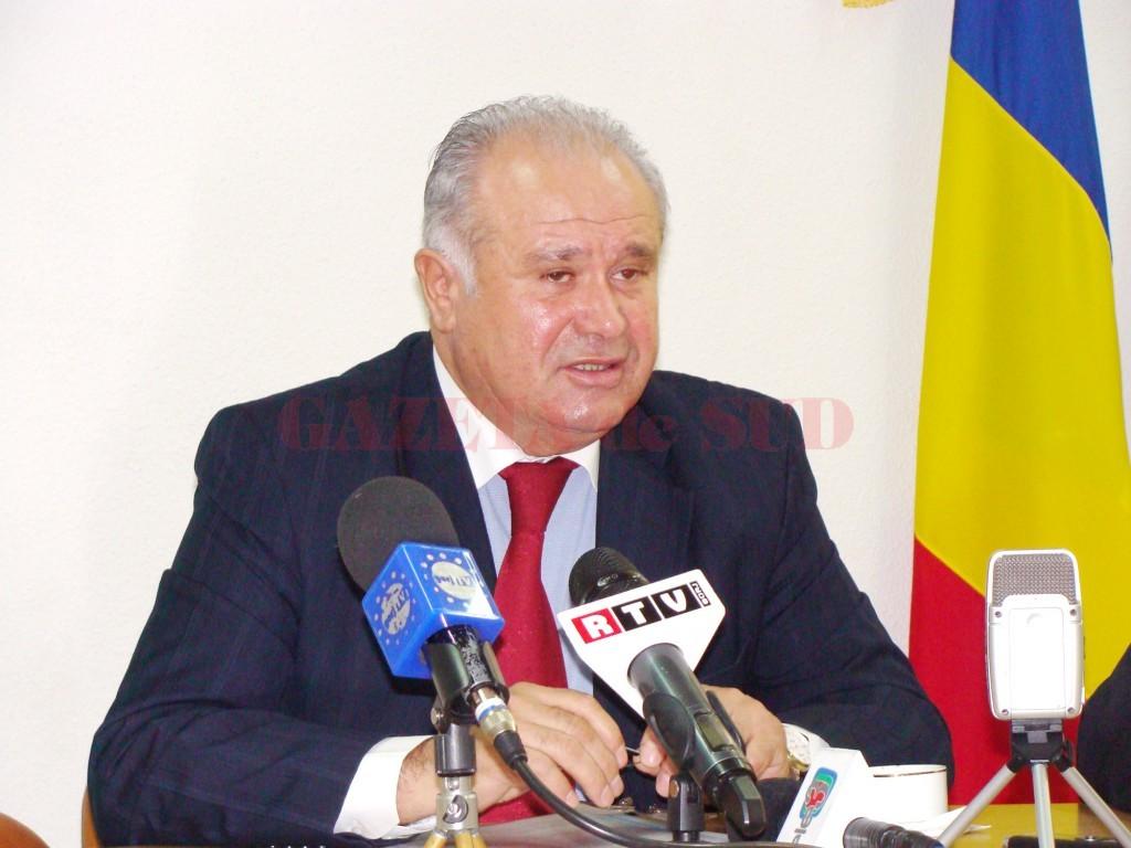 Ion Călinoiu, preşedintele Consiliului Judeţean Gorj