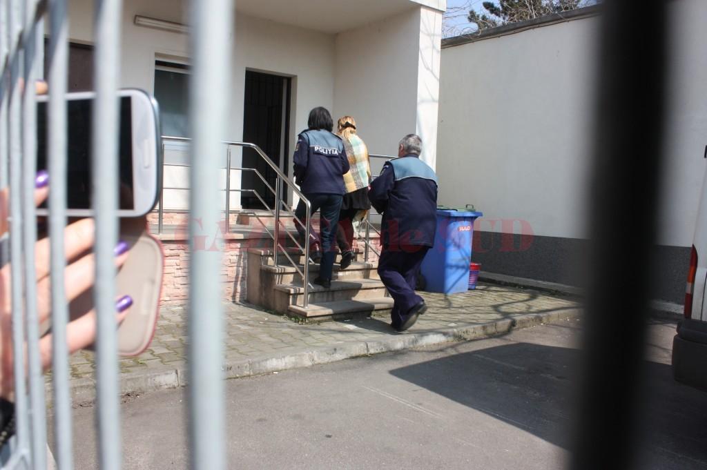 Judecătoarea Carmen Marinescu a fost arestată preventiv pe 24 martie și a fost eliberată din arest două luni mai târziu, pe 12 mai (Foto: arhiva GdS)