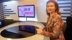 """Cristina Florescu, medic primar cardiolog în cadrul Clinicii de Cardiologie a SJU, a vorbit la emisiunea """"Ora de Sănătate"""", difuzată pe AlegeTV, despre bolile cardiovasculare (Foto: Daniela Mitroi-Ochea)"""