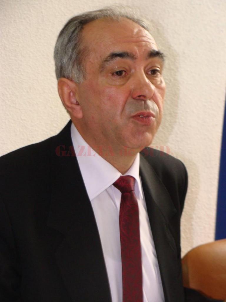Constantin Negrea, şeful APIA Gorj