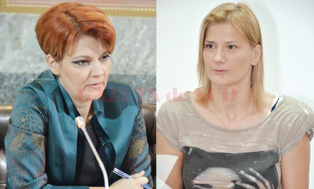 Instanțele au hotărât ca Primăria Craiova să-i plătească  antrenoarei Carmen Amariei (dreapta) peste 100.000 de lei