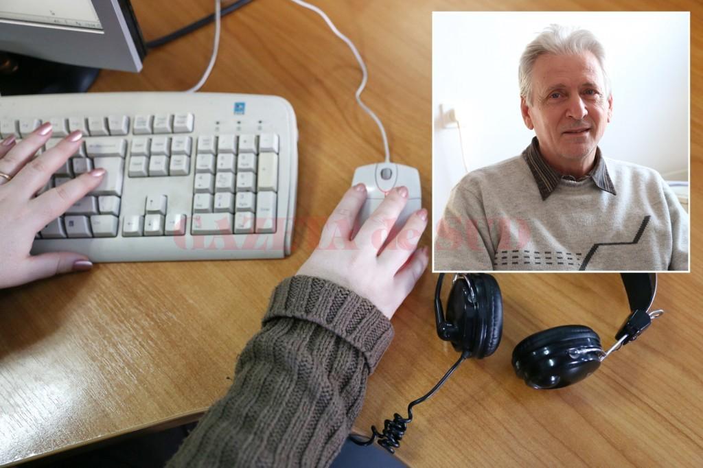 Comisarul CRPC Dolj, Dan Vasile (foto medalion), a spus că și în cazul comerțului electronic consumatorii trebuie să fie bine informați înainte să cumpere (FOTO: Claudiu Tudor)