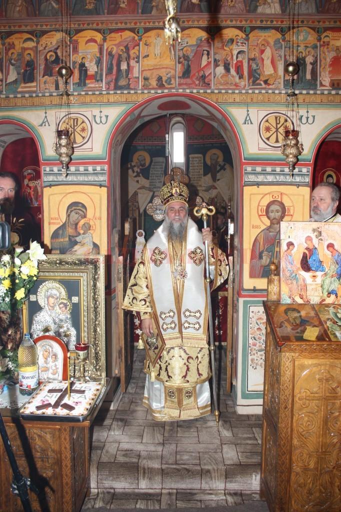 poza Hramul Manastirii Carcea