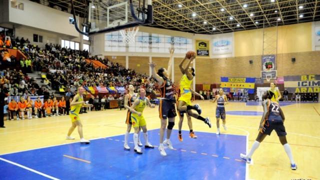 Sala Sporturilor din Arad are o capacitate de trei ori mai mică decât cea din Craiova