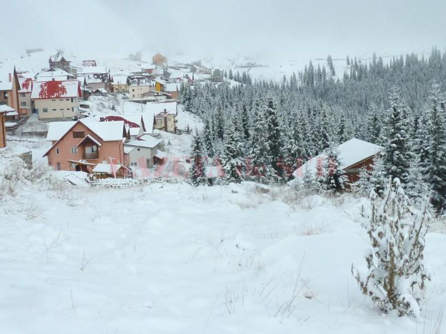 La munte va fi zăpadă