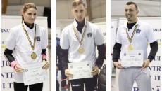 Adelina Tănasie, Ionuţ Drăguşin şi Daniel Budin au cucerit aurul pentru Universitatea  din Craiova