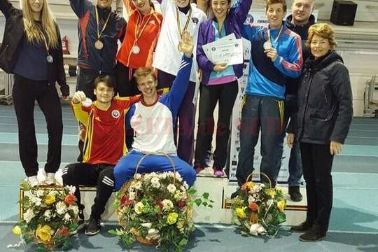 Dariana Didiliuc și colegii săi de la UNEFS București au participat la Campionatul Universitar de la Bacău