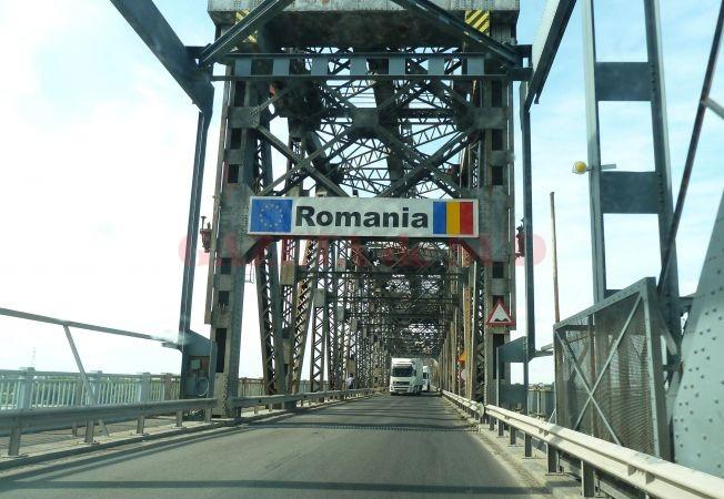 Mâine nu se plăteşte taxa de pod la Giurgiu