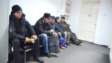 Ieri, până la ora 11.30, se înscriseseră 32 de persoane  în audiență la Casa Județeană de Pensii Dolj (FOTO: Claudiu Tudor)