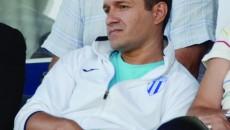 Ionuţ Moşteanu va privi activitatea alb-albaştrilor din tribună până la vară (Foto: Alexandru Vîrtosu)