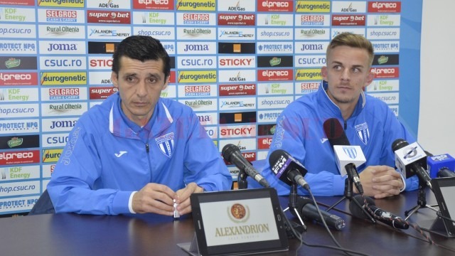 Daniel Mogoşanu şi Nicuşor Bancu îşi doresc să încheie campionatul regulat cu o victorie contra Clujului (Foto: Alexandru Vîrtosu)