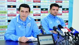 Daniel Mogoşanu şi Valentin Iliev promit un joc bun şi o victorie cu Petrolul (Foto: Alexandru Vîrtosu)