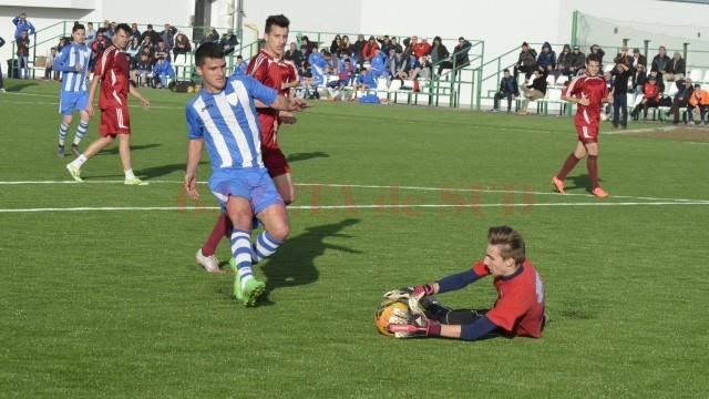 Neacşu a făcut un meci bun cu Viitorul Cârcea (Foto: Alexandru Vîrtosu)