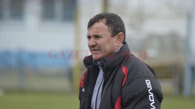 Gigi Ciurea și-ar dori ca atacanții săi să fie mai eficienți