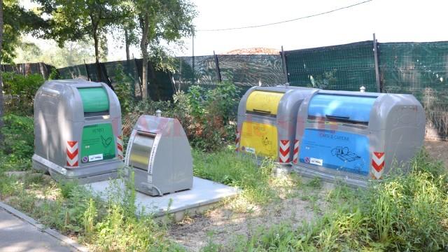 Containerele prezentate în 2014 de firma Waste Technology vor ajunge piese de muzeu. CJ Dolj a anulat licitaţia de 10 milioane de euro. (Foto: Arhiva GdS)
