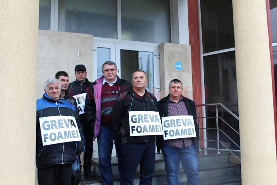 Greva foamei împotriva mutării sediului CEO la Bucureşti (Foto: Eugen Măruţă)