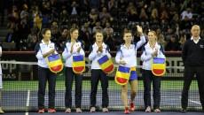 FED CUP -ROMANIA-CEHIA - SIMONA HALEP - KAROLINA PLISKOVA