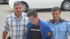 Miodrag V. a fost condamnat vineri de Tribunalul Gorj pentru omor (FOTO: Eugen Măruţă)