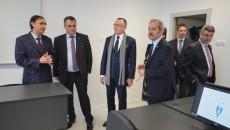 La inaugurarea Campusului de la Mecanică au participat oficialităţi locale, dar şi reprezentanţi ai Ministerului Educaţiei (Foto: Traian Mitrache)